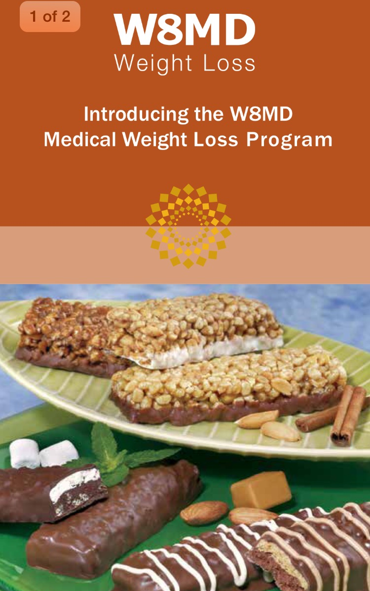 w8md weight loss protein bars